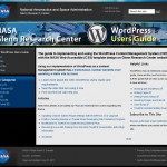 NASA GRC WordPress Users Guide Theme Updated
